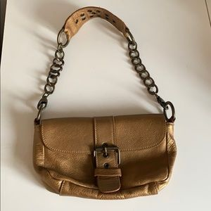 Roots 100% leather purse